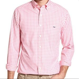 Vineyard Vines classic Fit Tucker Shirt Gingham